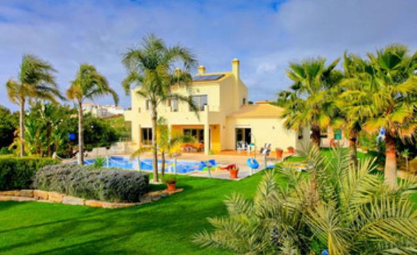Large villa with beautiful gardens for 8  people with private pool near Albufeira - PT-1079059-Sao Rafael / Albufeira - Image 1 - Patroves - rentals
