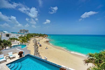 Beachfront Villa in Exclusive Gated Shore Pointe - Etoile de Mer - Image 1 - Cupecoy - rentals