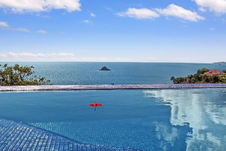 Stunning Vague Bleu Villa offers a jacuzzi, infinity pool & free Suzuki rental - Image 1 - Lurin - rentals