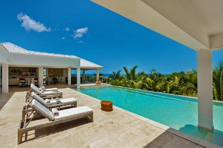 Bamboo - Modern villa near beach & nightlife, features pool & beautiful landscape - Image 1 - Terres Basses - rentals