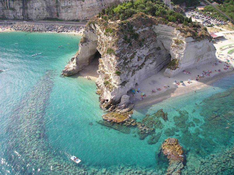 Tropea houses in the villages