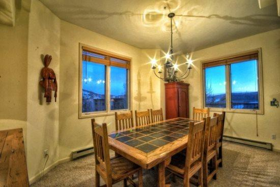 Large Dining Area - Storm Meadows Spa Grenoble III - Steamboat Springs - rentals