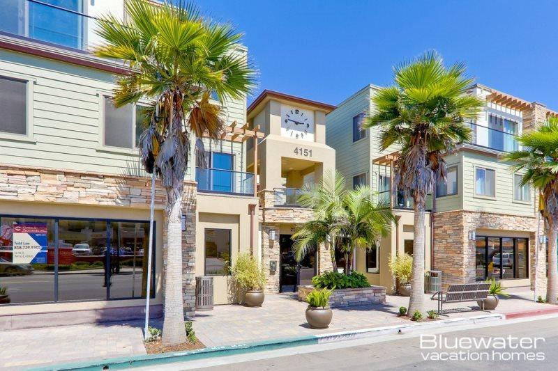 New complex on Mission Blvd and Pacific Beach Drive - Pacific Blue Two - Vacation Rental in Pacific/Mission Beach - Pacific Beach - rentals