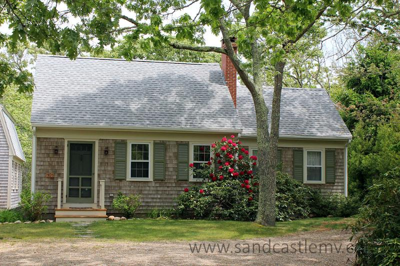 1247 - ADORABLE CAPE LOCATED CLOSE TO MORNING GLORY FARM AND OFFERS ASSOCIATION TENNIS - Image 1 - Edgartown - rentals
