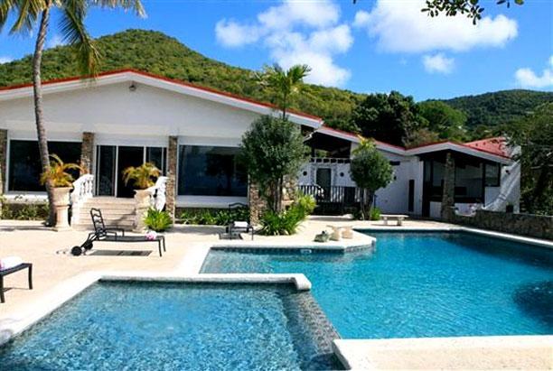 St. Martin Villa 196 Unparalleled Privacy, Breathtaking Views Of Simpson Bay Lagoon. - Image 1 - Guana Bay - rentals