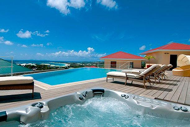 SPECIAL OFFER: St. Martin Villa 197 An Exquisite, Luxury And Elegant 4 Bedroom, 4.5 Bathroom Villa Set On The Hill Above Orient Bay. - Image 1 - Cul de Sac - rentals