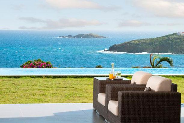 SPECIAL OFFER: St. Martin Villa 198 The Spectacular Views, The Back-drop Of Sky, Sea And This Lovely Villa With White Accents Is Absolutely Stunning. - Image 1 - Dawn Beach - rentals