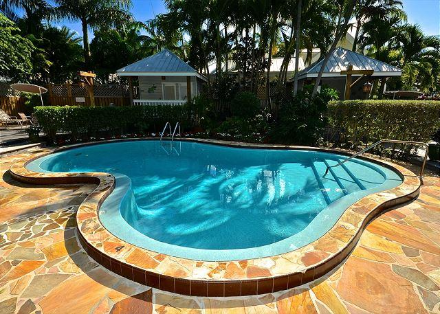 """CASA TORTUGA"" Monthly Rental. Tropical Condo w/ Pool. A Few Blocks To Duval. - Image 1 - Key West - rentals"