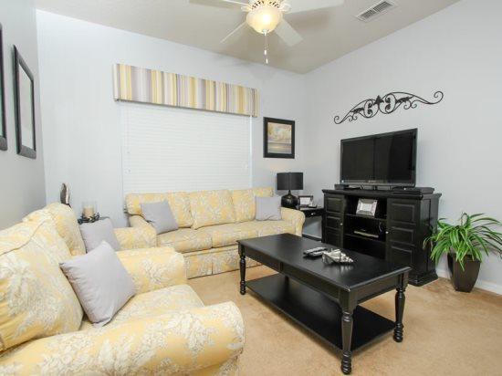 Oakwater 2 Bedroom 2 Bath Condo Sleeps 6. 2805OD - Image 1 - Orlando - rentals