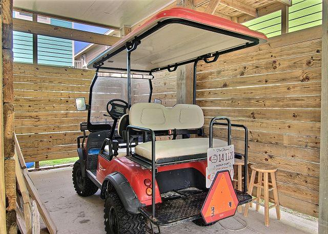 Golf Cart with Rental - Batton The Hatches 416SL - Port Aransas - rentals