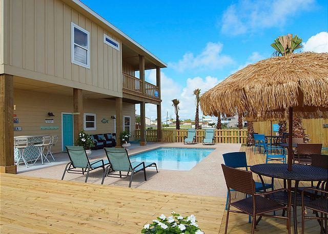 Private Pool - Casa Chillota, Private Pool, Sleeps 14, Close to beach, Boat Parking - Port Aransas - rentals