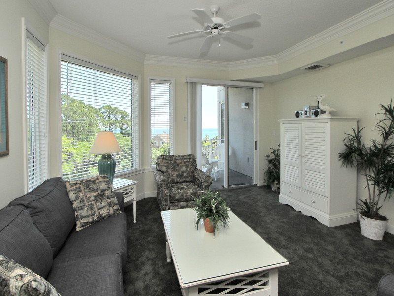 Living Room at 2401 Sea Crest - 2401 Sea Crest - Hilton Head - rentals