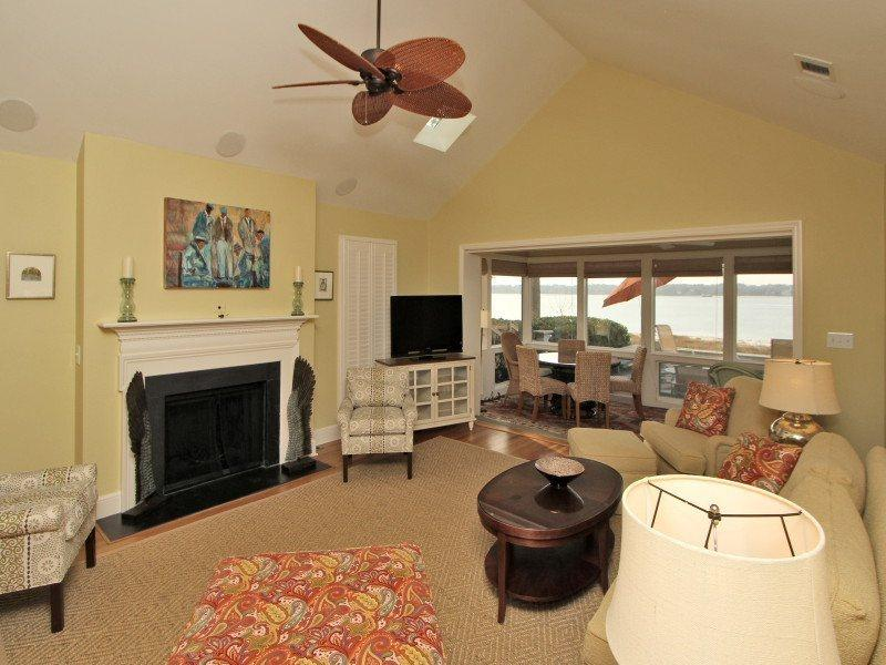 Living Room at 43 Lands End Road - 43 Lands End Road - Hilton Head - rentals