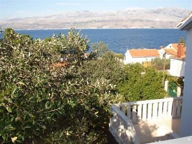 H(10): terrace view - 5707 H(10) - Splitska - Splitska - rentals