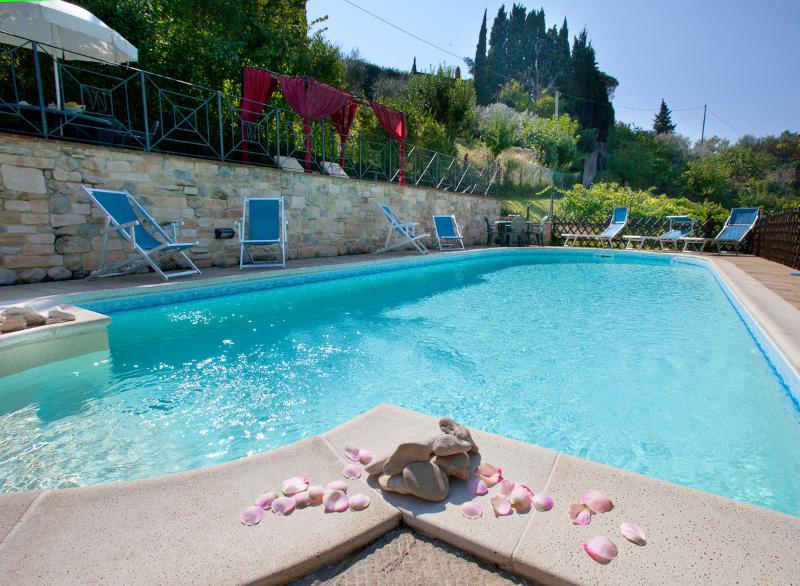 The new eco pool with salt water in Villa Nuba vacation rental in Perugia - Umbria - Italy - Luxury Villa Nuba,salt water pool,jacuzzi,panoramic terrace,wifi,5 min. downtown - Perugia - rentals