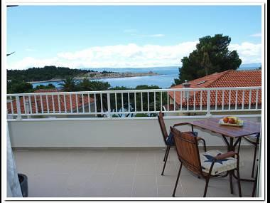 A4(4): terrace - 5155 A4(4) - Makarska - Makarska - rentals