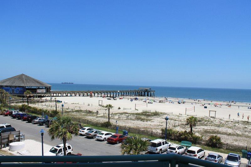 Sandpiper Condominiums - Unit 306 - Ocean Front Panoramic Views of Tybee Beach - Image 1 - Tybee Island - rentals