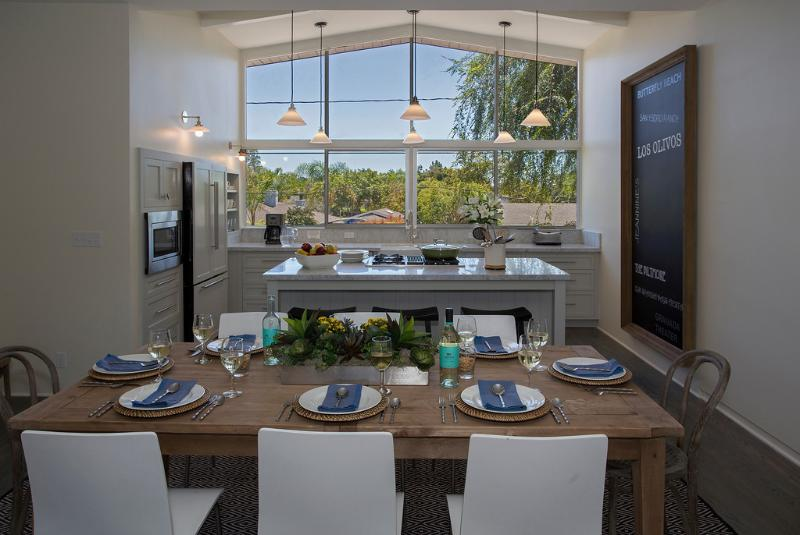 Newly remodeled Kitchen and Dining Room - Montecito Village Retreat - Montecito - rentals