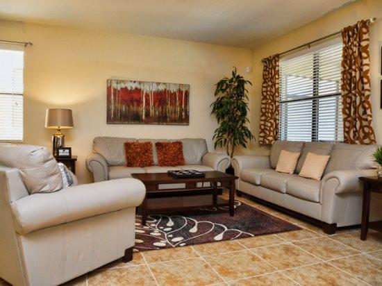 Living Area - CG4P9113ECL Orlando 4 BR Pool Home CG4P9113ECL - Orlando - rentals