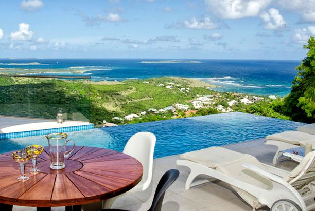 SPECIAL OFFER: St. Martin Villa 203 The Villa Offers Breathtaking Views Of The Ocean And Orient Bay. - Image 1 - Oyster Pond - rentals