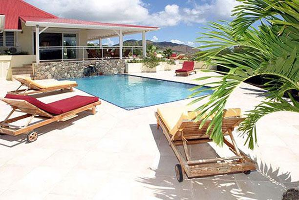 SPECIAL OFFER: St. Martin Villa 205 The Villa Is Perched On A Hilltop With A Stunning View Of The Islands. - Image 1 - Orient Bay - rentals