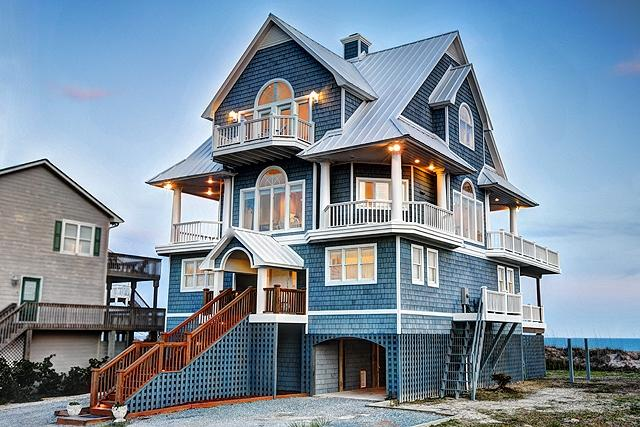 1042 New River Inlet Road - New River Inlet Rd 1042 Oceanfront! | Hot Tub, Jacuzzi, Internet Discounts Available- See Description!! - North Topsail Beach - rentals