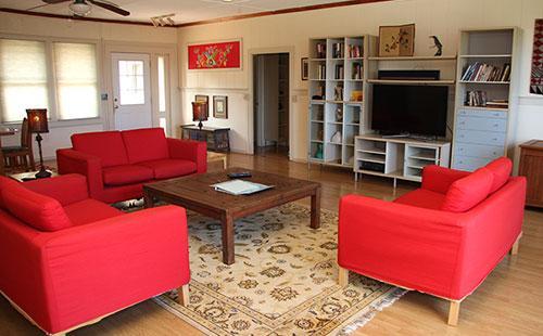 Living area from lanai - Ko Kula Kai - Kaunakakai - rentals