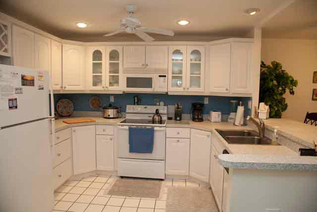 Kitchen - Gulfside Mid-Rise Unit 203 E - Siesta Key - rentals