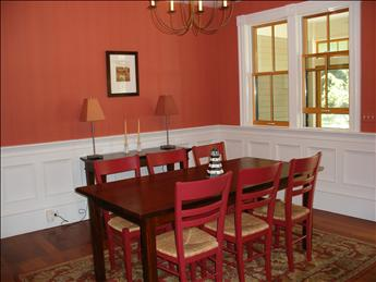 Dining Room has beautiful detail and plenty of seating. - BOWORL 96102 - Orleans - rentals