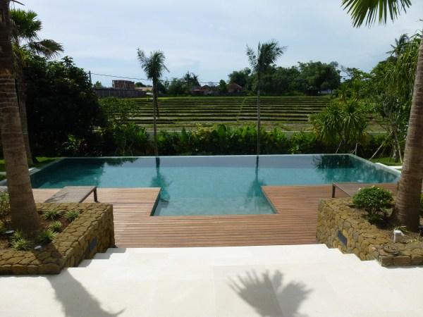 View from the living - Wonderful ricefield view villa in Canggu Bali - Canggu - rentals