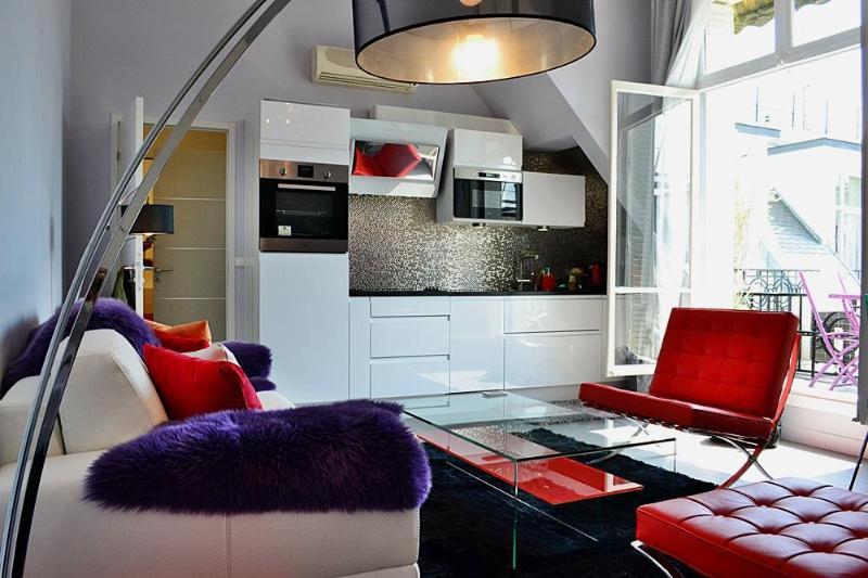 Living room - Splendid 1 BR on Champs Elysées  - P8 - Paris - rentals