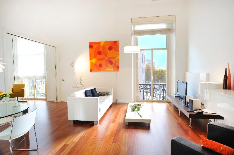 Modern and lovely apartment with a spectacular view of the Plaza Catalunya - B305 - Image 1 - Barcelona - rentals