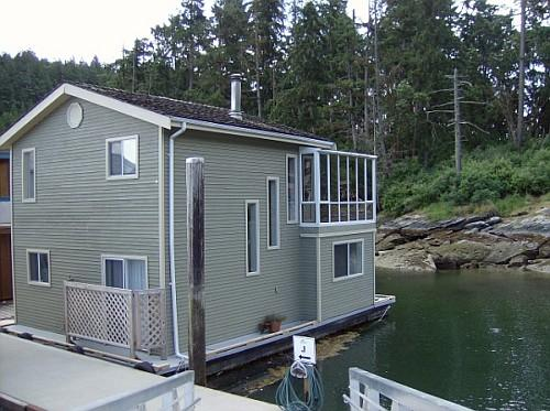 Exterior - Arbutus Mist -2Bdrm Float Home at Maple Bay Marina - Duncan - rentals
