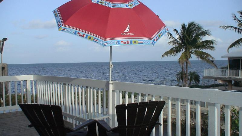 Enjoy this Breathtaking Atlantic Ocen View from your Balcony - FLORIDA KEYS- HOUSE with Breathtaking Ocean-view & Beach view - Key Largo - rentals