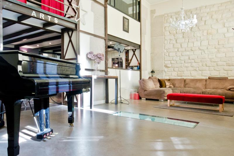 Vacation Apartment at Loft Popincourt in Paris - Image 1 - Paris - rentals