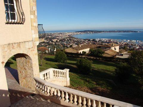 Beautiful 6 bedroom villa - magnificent sea view - Image 1 - Cannes - rentals