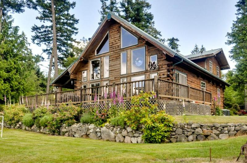 Bright, rustic cabin w/ breathtaking bay & ocean views! - Image 1 - Lopez Island - rentals