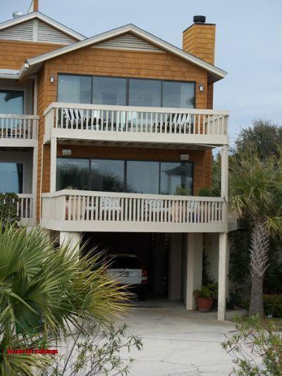 1200: Beachfront on Tybee - Image 1 - Savannah - rentals