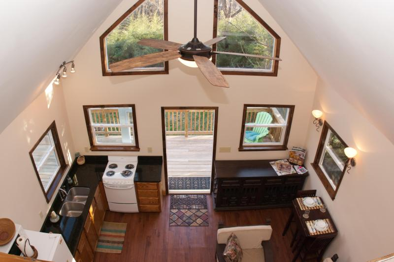 Your Own Private Cabin in West Asheville Village! - Image 1 - Asheville - rentals