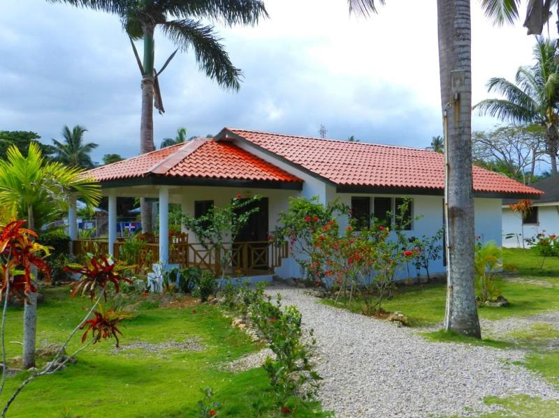 Cottage D with large kitchen, living area and bathroom, has large terrace - Cottage D,  1 Bedroom & Lounge ('See More') - Las Terrenas - rentals