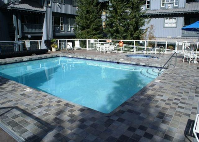 Glacier Lodge 322 - Upper Village Ski in Ski out with pool and hot tub access - Image 1 - Whistler - rentals