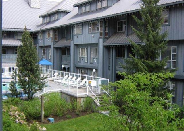 Glacier Lodge 247 - Deluxe Ski in Ski out condo with pool and hot tub - Image 1 - Whistler - rentals