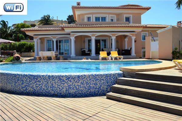 4 bedroom Villa in Javea, Costa Blanca, Javea, Spain : ref 2234278 - Image 1 - Javea - rentals
