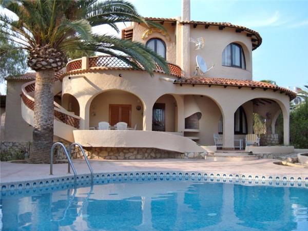 4 bedroom Villa in Calpe, Costa Blanca, Spain : ref 2209628 - Image 1 - Calpe - rentals