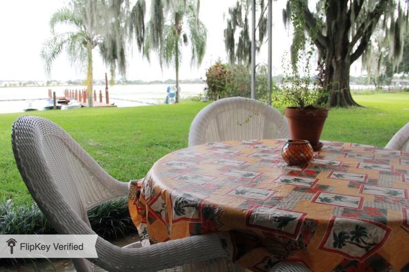 lakefront cottage patio - Lakefront Cottage - Orlando - Baldwin Park - Orlando - rentals
