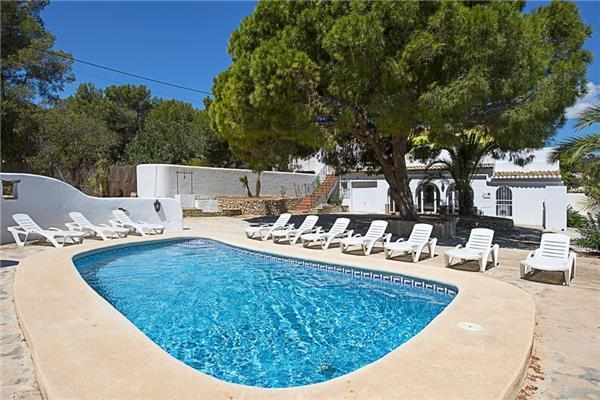 7 bedroom Villa in Benissa, Costa Blanca, Spain : ref 2233747 - Image 1 - La Llobella - rentals