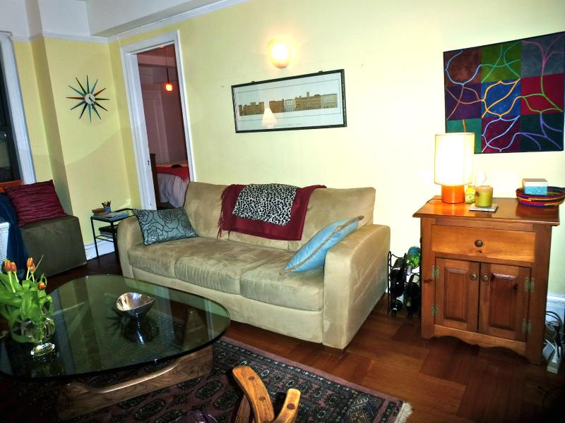 Living room - Lovely NYC prewar apartment, doorman building - New York City - rentals