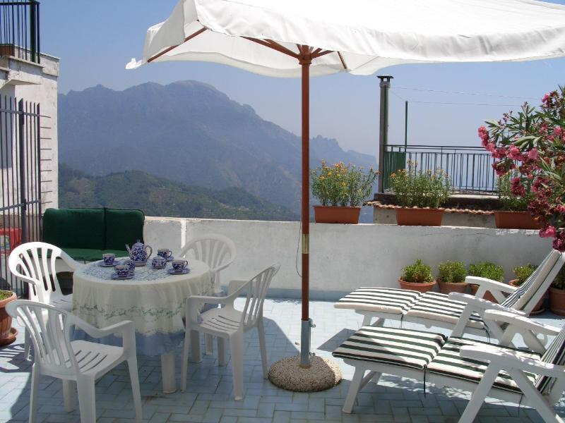 Casa Mansi a terrace from Ravello - Image 1 - Ravello - rentals