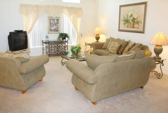 3 Bedroom 2.5 Bathroom Pool Home in Kissimmee. 3089 - Image 1 - Orlando - rentals