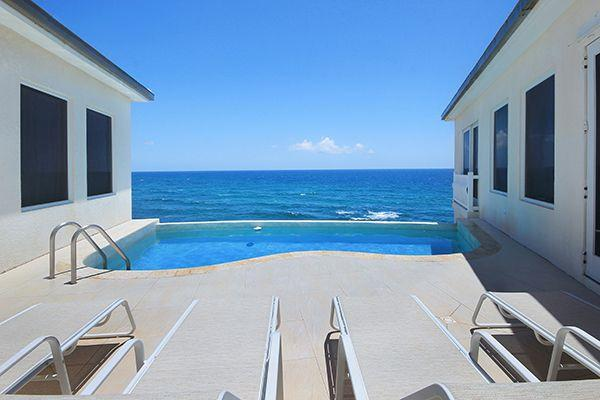 Villa Bliss...Dawn Beach Estates, St Maarten 800 480 8555 - BLISS...Cliffside with direct waterfront views in Dawn Beach Estates - Saint Martin-Sint Maarten - rentals